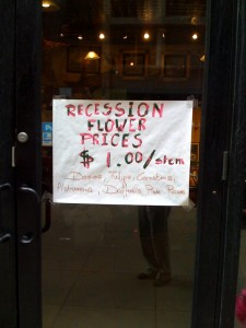 recession flowers
